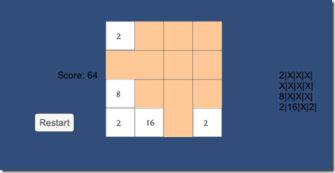 Building the 2048 game in Unity via C# and Visual Studio – Dimitris