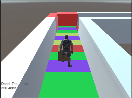 Creating an infinite 3D runner game in Unity (like Temple